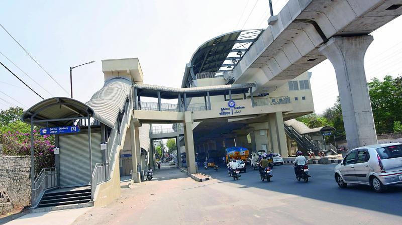Image result for hyderabad metro STATION Latest