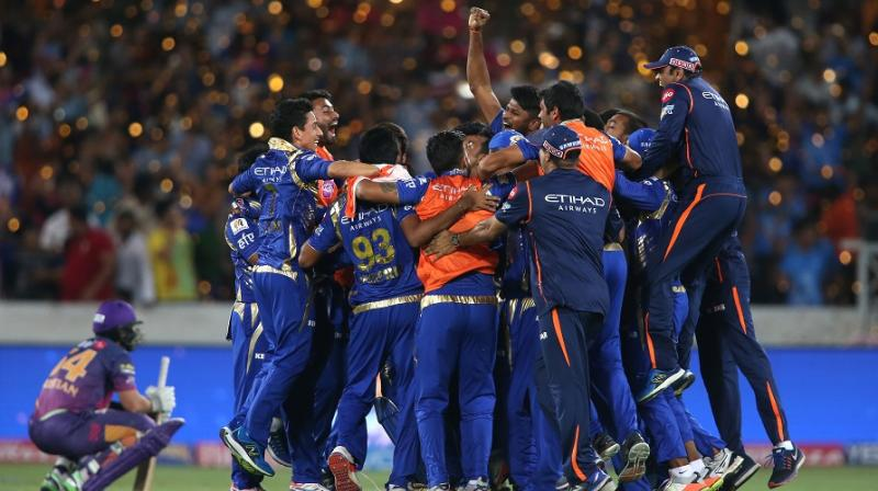 Mumbai Indians turned the match around in the very last over, to clinch their third IPL title. (Photo: BCCI)