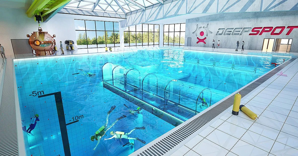 deepest pool in the