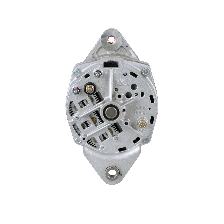 Alternator Wiring Diagram On Delco Remy 22si Alternator Wiring