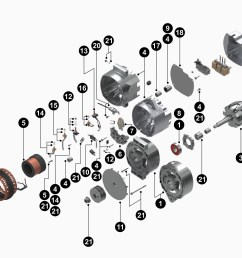 50dn alternator diagram wiring diagram centre19011164 33si new alternator product details delco remy19011164 33si new alternator [ 4000 x 3056 Pixel ]