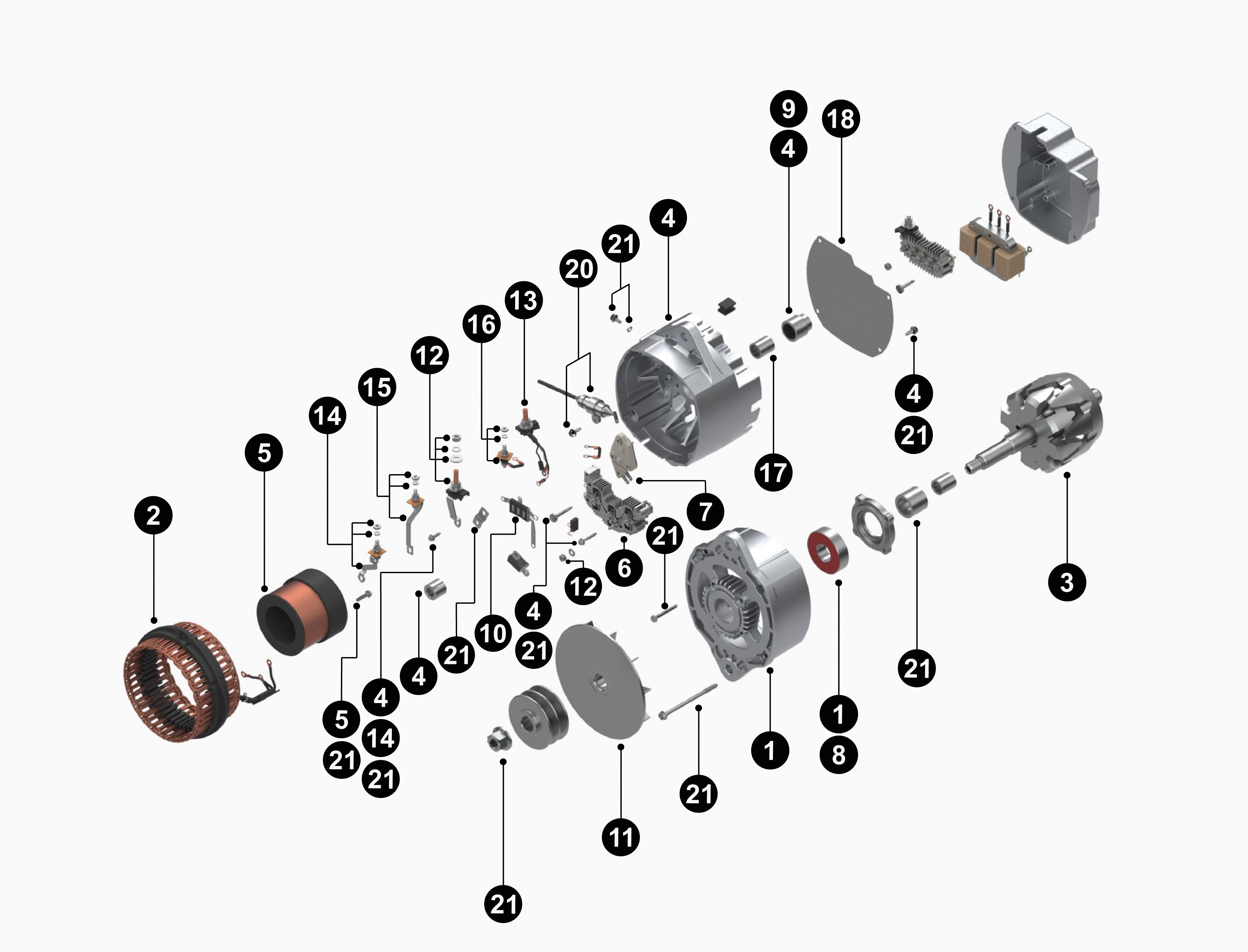 delco remy alternator diagram danfoss fridge thermostat wiring 55si repair scheme