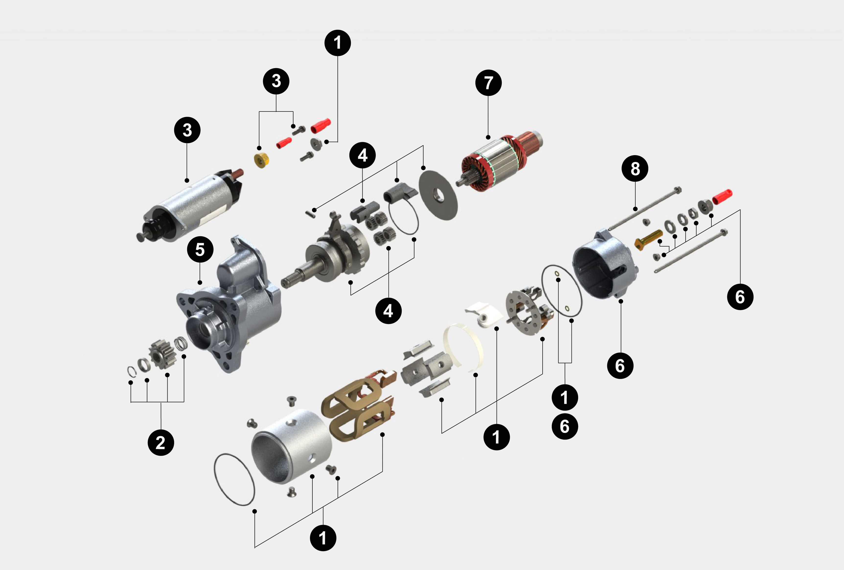 Denso Starter Diagram