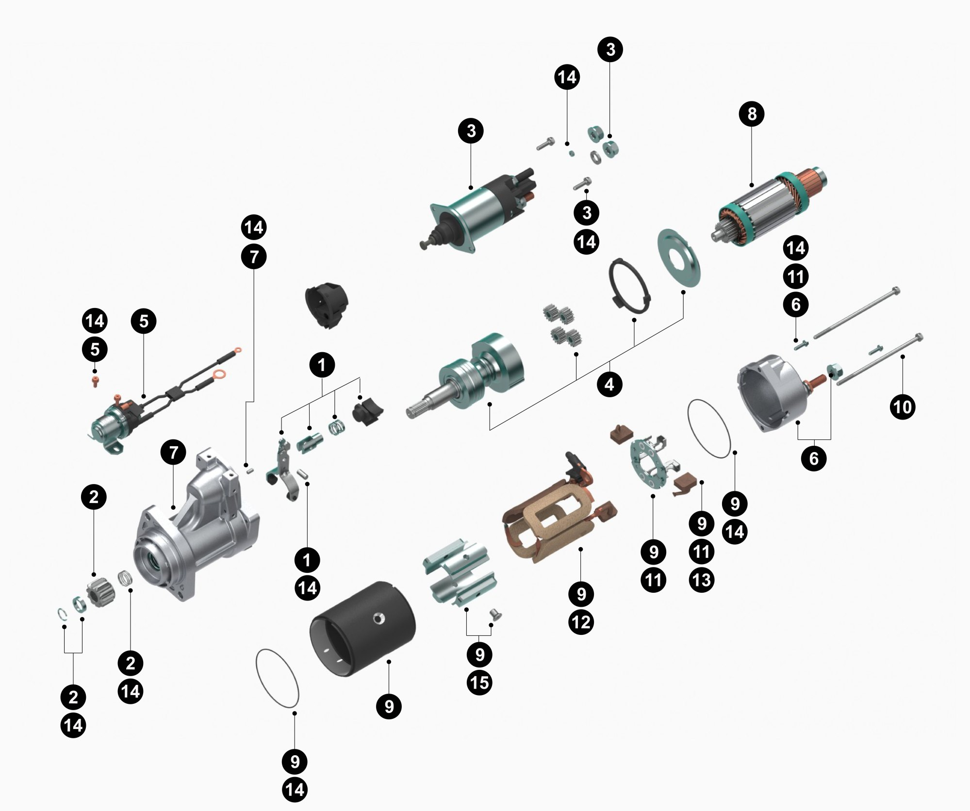 hight resolution of delco remy 50dn alternator wiring diagram best wiring library19026027 38mt new starter product details delco remy19026027