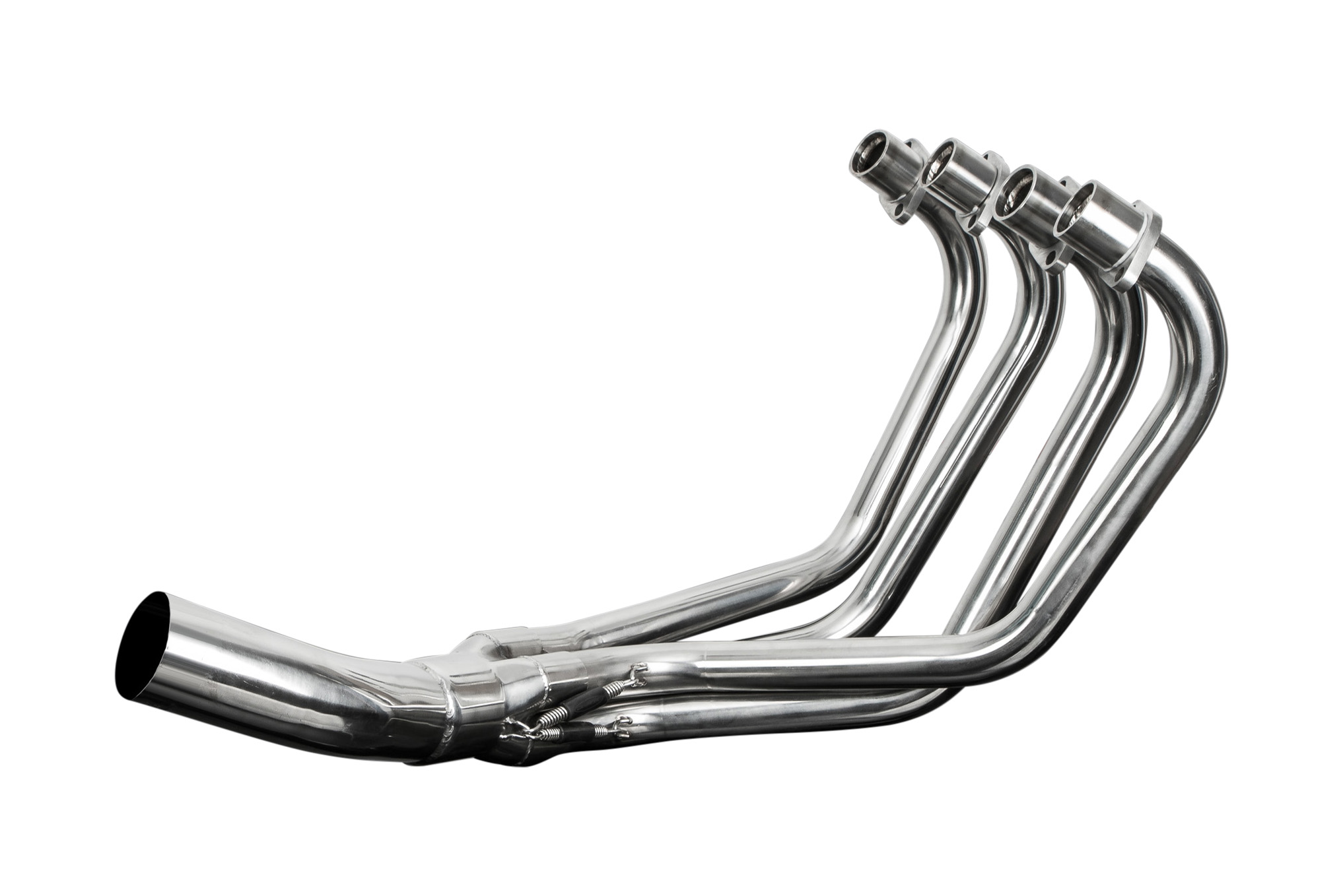 HONDA CB750F1/F2/K7 75-78 STAINLESS 4-1 EXHAUST DOWNPIPES