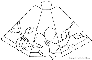 Free Dogwood Panel Lamp Pattern