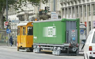 cargo by tram