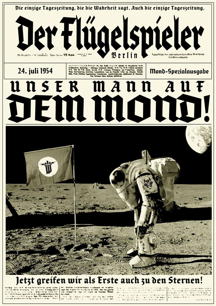 Wolfenstein Die Propaganda des virtuellen Dritten