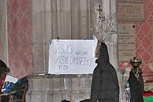Der Hungerstreik wurde vorerst für zehn Tage unterbrochen.