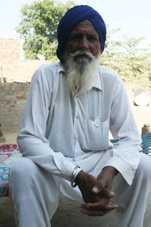 foto: kretschmer Mejor Singh fand die Leiche seines 30-jährigen Sohnes.