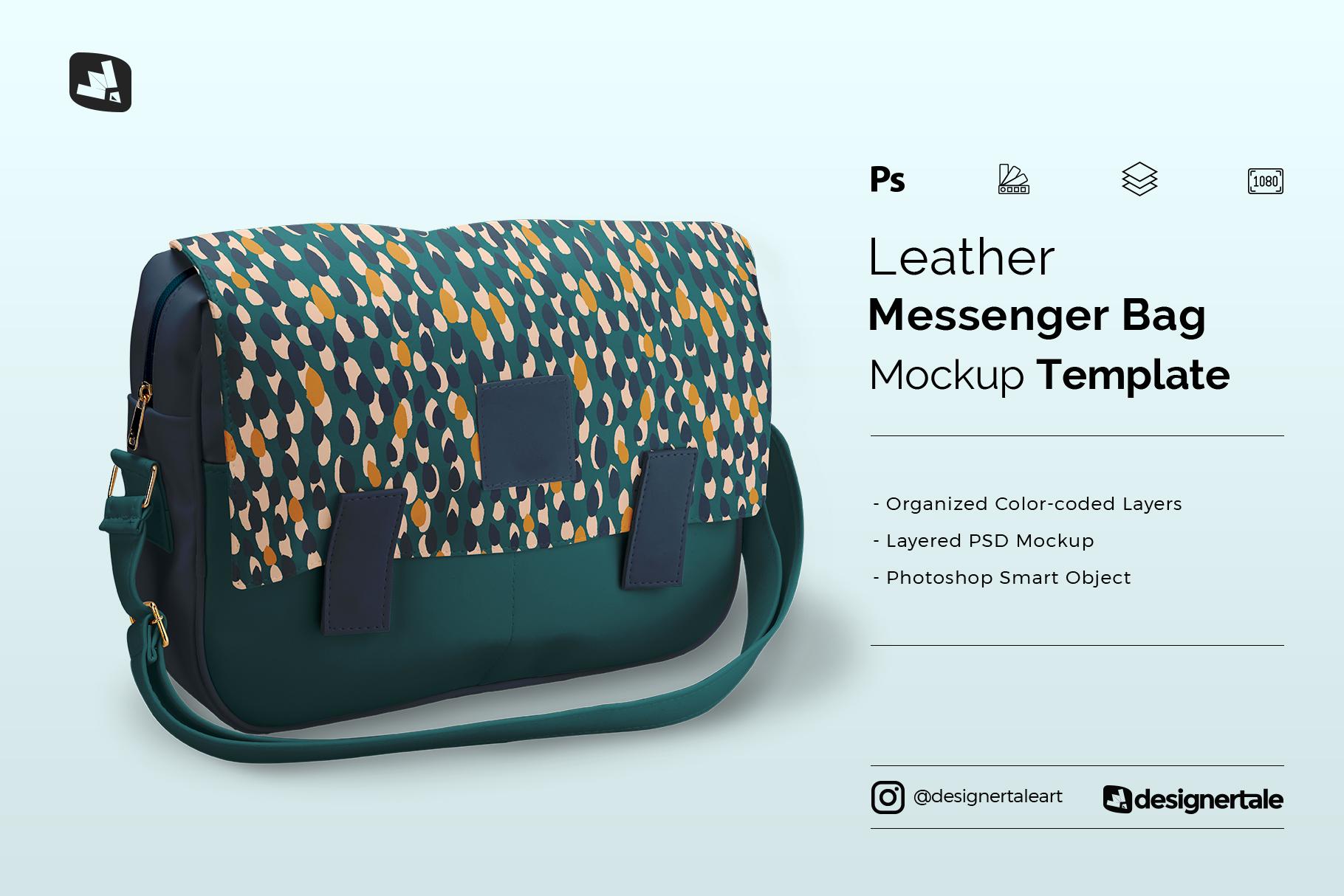bag black clothing hand mockup shopper white. Leather Messenger Bag Mockup Designertale
