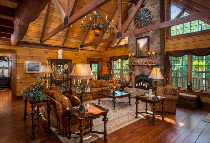 rustic living rooms room pictures black and white 19 designs decorating ideas design trends interior wall decor