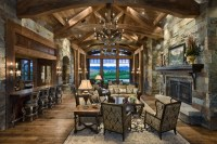 19+ Rustic Living Room Designs, Decorating Ideas | Design ...