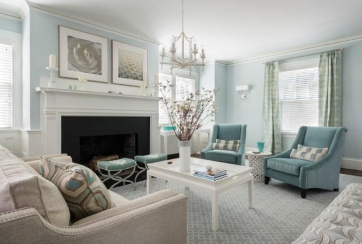 Blue Living Room Decor | Aecagra.org