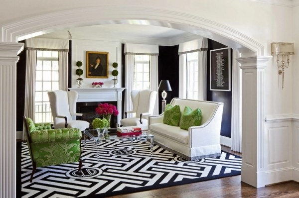 black and white living room interior design 19+ Black and White Living Room Designs, Decorating Ideas | Design Trends - Premium PSD, Vector