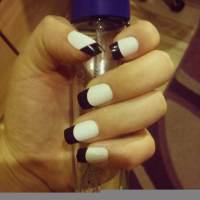 45+ Black and White Nail Art Designs, Ideas | Design ...