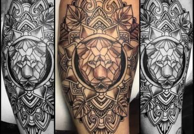 Flower Tattoos Designs For Men