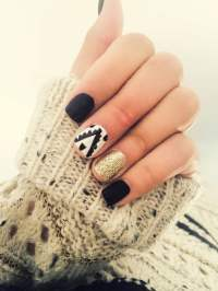 Seasonal Fall Nail Designs | Design Trends - Premium PSD ...