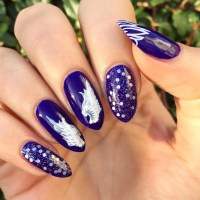24+ Purple Nail Art, Designs, Ideas | Design Trends ...