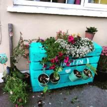Diy Pallet Planter Design Home