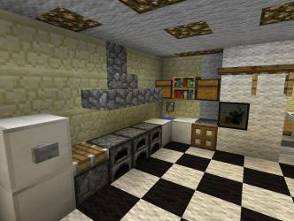 Kitchen Ideas On Minecraft SHREENAD HOME