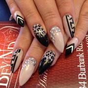 leopard nail design trends