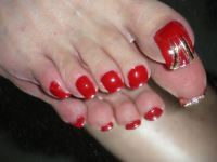 Pretty Red Nail Designs | Design Trends - Premium PSD ...