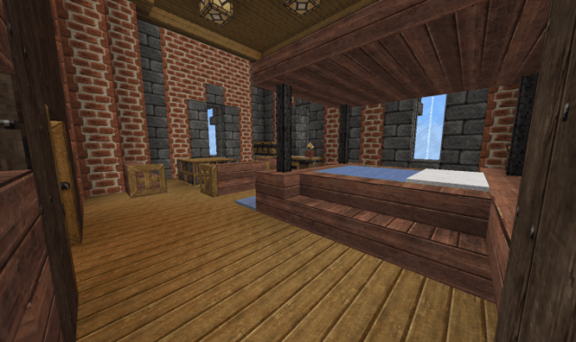 20+ Minecraft Bedroom Designs, Decorating Ideas | Design ...