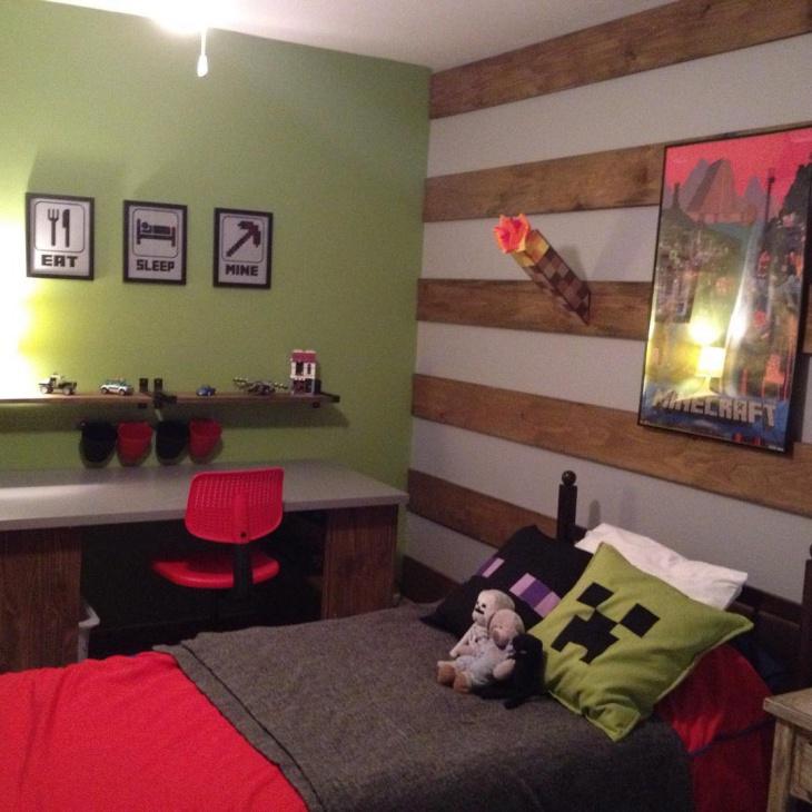 20 Minecraft Bedroom Designs Decorating Ideas  Design