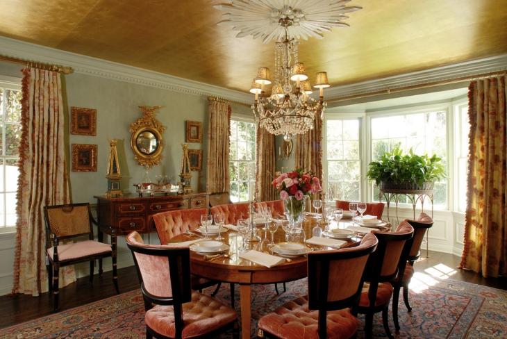 23+ Dining Room Ceiling Designs, Decorating Ideas