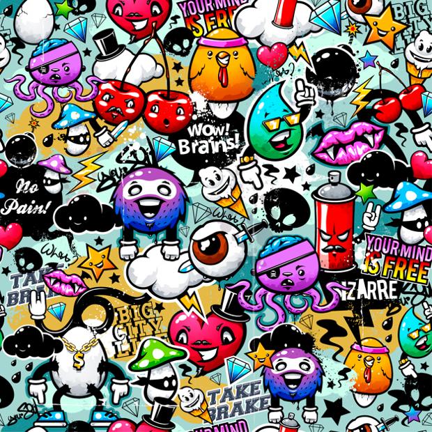 20 Graffiti Background Designs  PSD JPG PNG Format