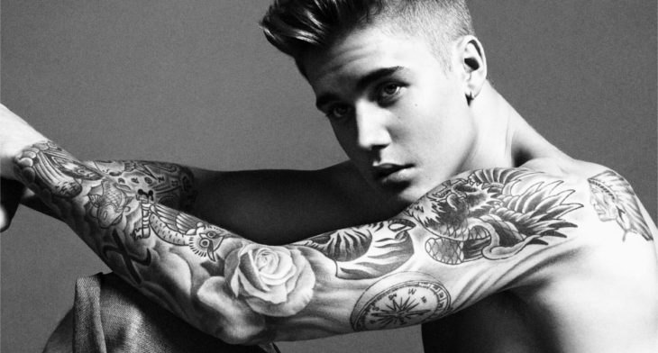 Justin Bieber Sleeve Tattoo