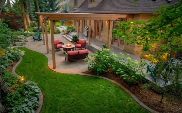 latest backyard landscaping