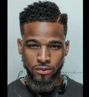 black haircut ideas design