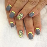 21+ Yellow Nail Art Designs, Ideas | Design Trends ...