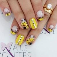 21+ Yellow Nail Art Designs, Ideas | Design Trends ...