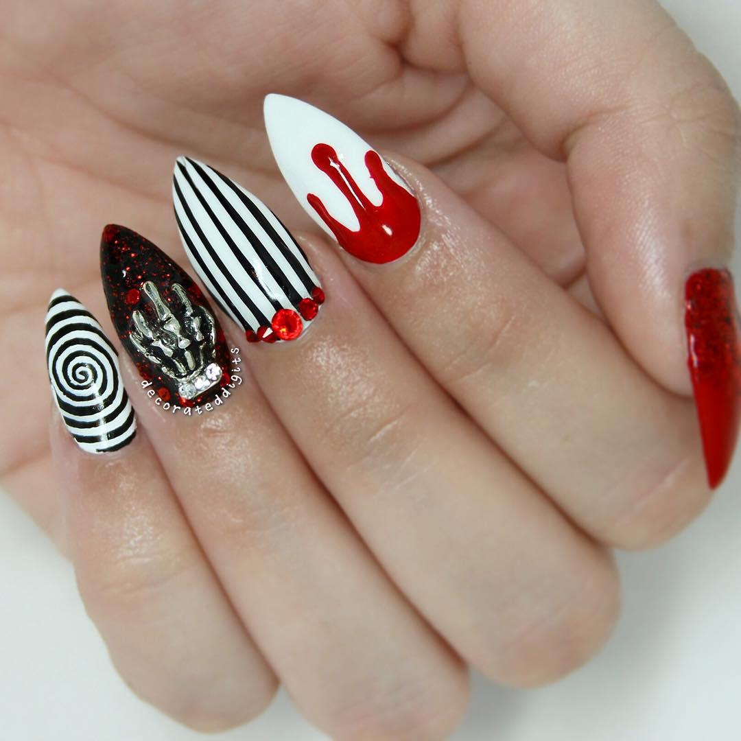 3d Nail Art Idea