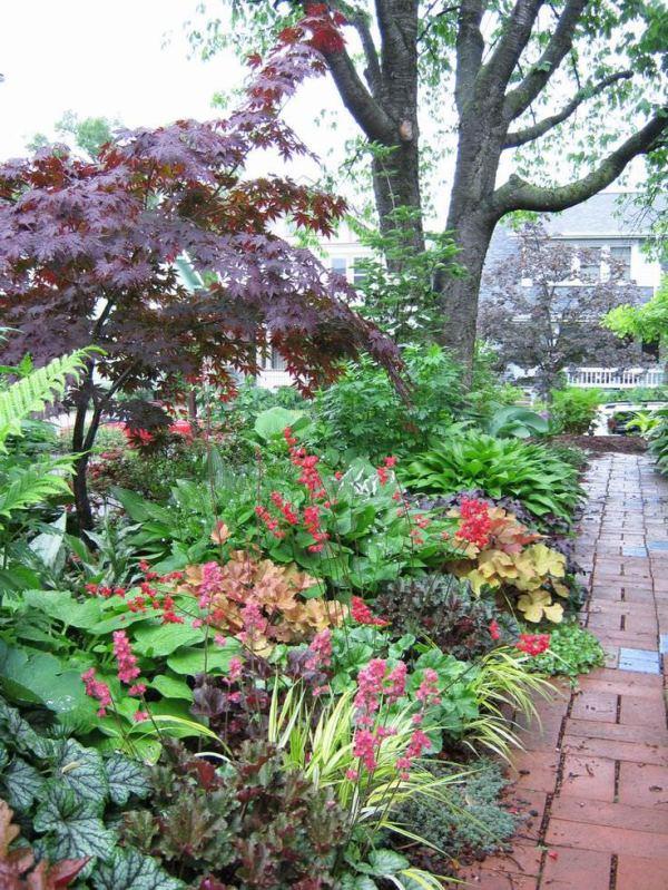 shade garden design decorating