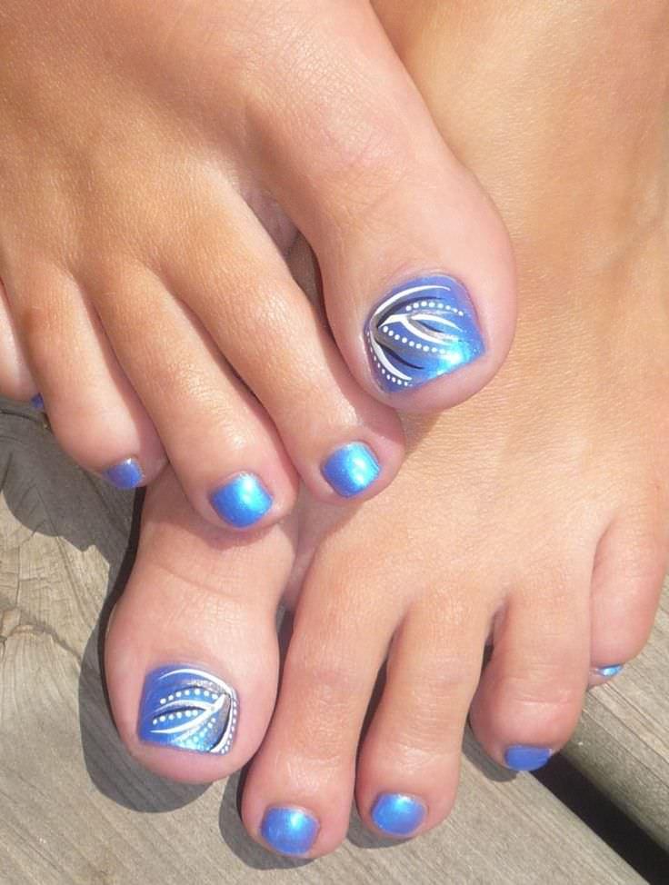 31+ Toe Nail Art Designs, Ideas