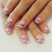zebra nail art design ideas