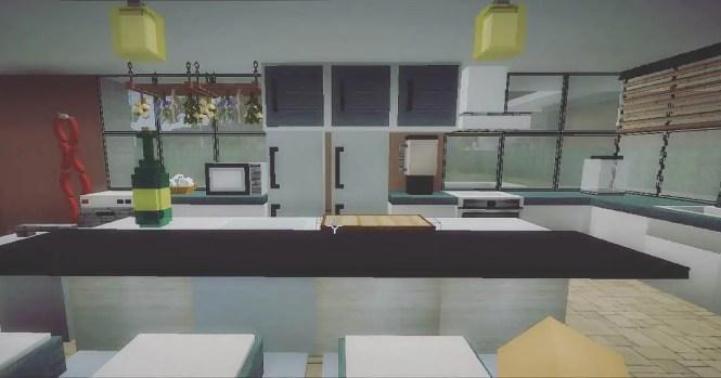 Kitchen Design Minecraft