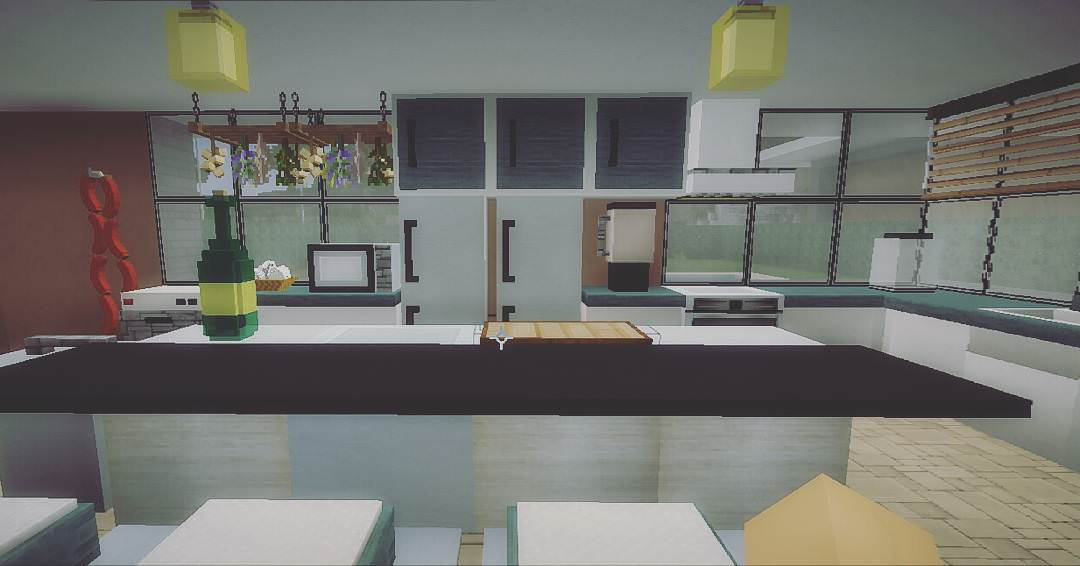 ... Kitchen Design Minecraft Part 81