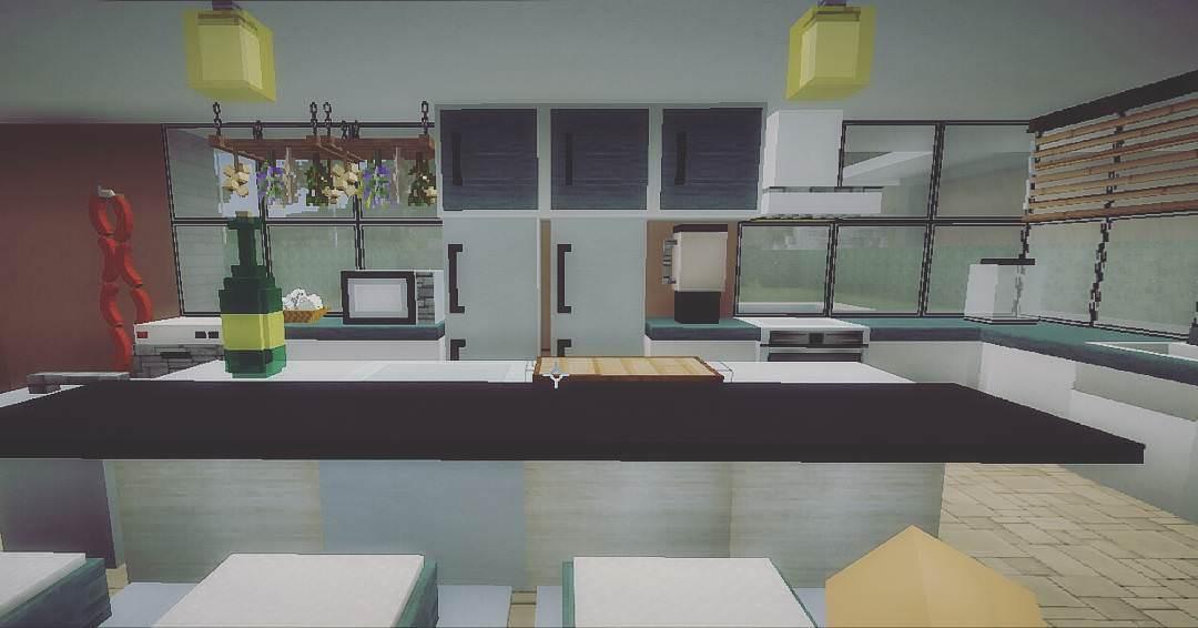 ... Kitchen Design Minecraft Part 81