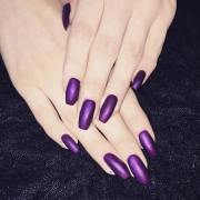 purple nail art design ideas