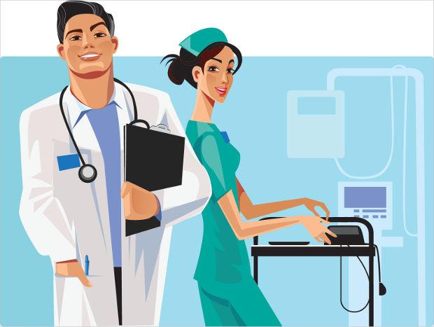 Cute Medical Wallpaper 19 Character Vectors Eps Png Jpg Svg Format Download