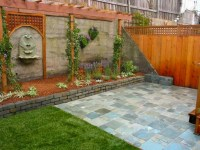 Brick Wall Garden Designs, Decorating Ideas, | Design ...