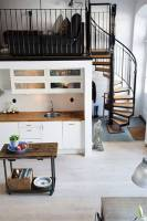 Staircase Designs For Small Spaces   Living Room Designs ...