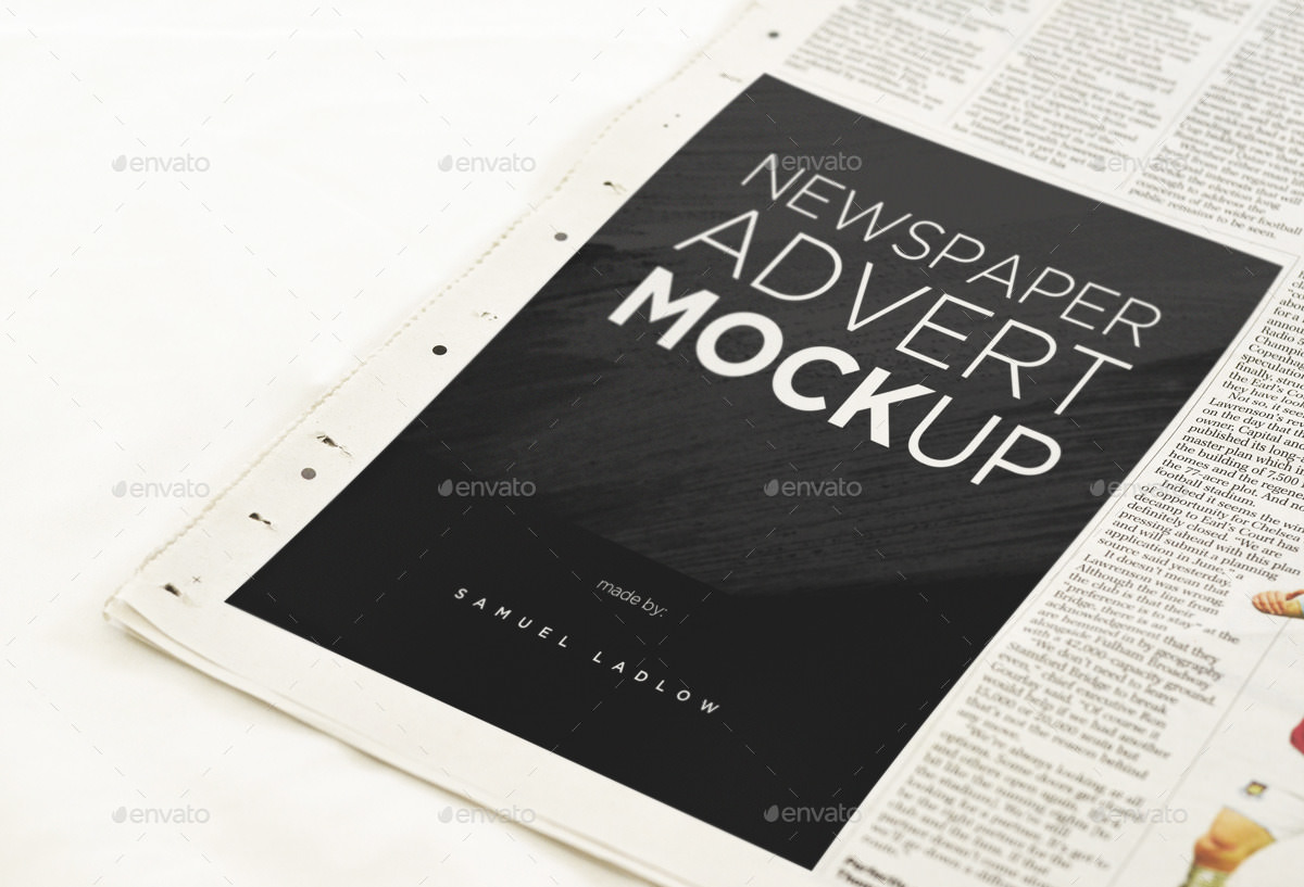 17 Free and Premium Advertisement Mockups  PSD Download