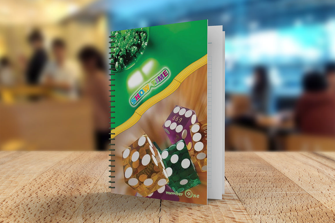 Awesome Notebook Mockup Presentation