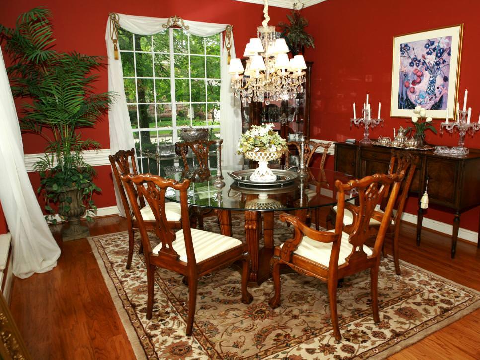 10 Red Dining Room Designs Decorating Ideas  Design Trends  Premium PSD Vector Downloads